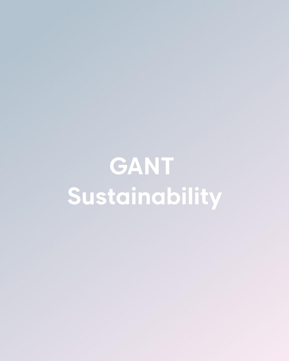 GANT Sostenibilita