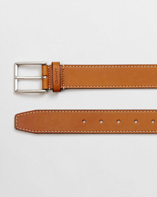 Cintura con impunture a contrasto
