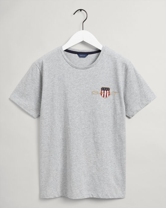 T-shirt Archive Shield con ricamo teens
