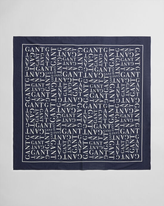 Sarong con stampa Typography