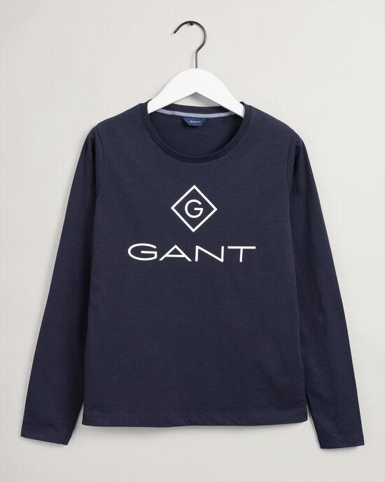 T-shirt Logo a maniche lunghe