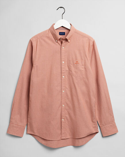 Camicia testurizzata regular fit