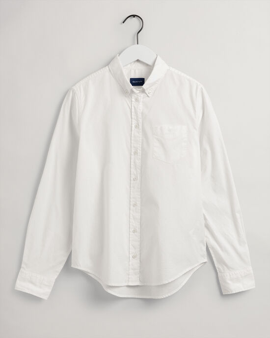 Camicia Oxford Garment-Washed