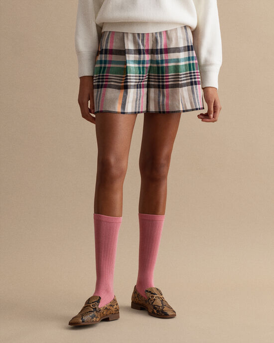 Pantaloncini sartoriali a quadri