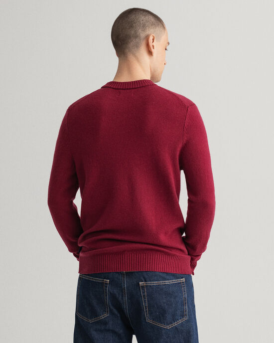 Maglia girocollo in lana Geelong