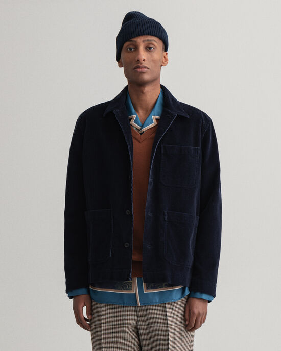 Camicia giacca in velluto a coste