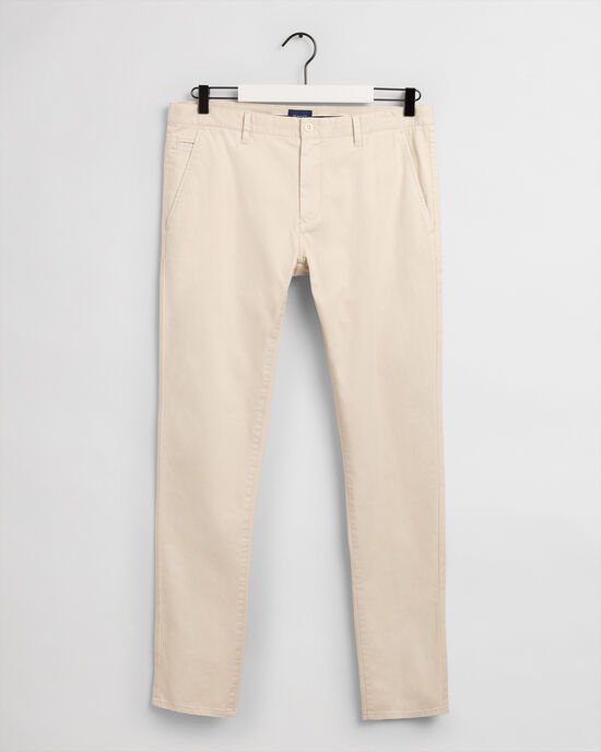 Pantaloni chino Molsey pettinati