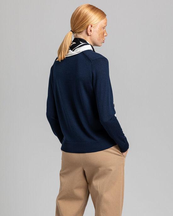 Cardigan in lana merino lavabile