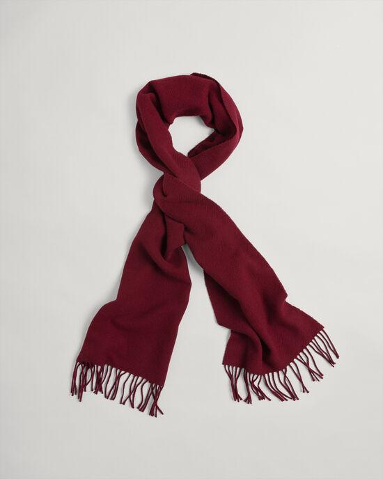 Sciarpa in twill di lana