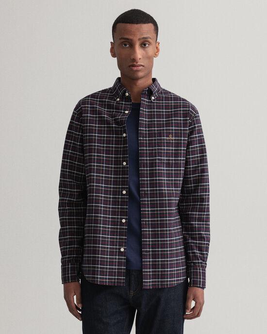 Camicia Beefy Oxford a quadri regular fit