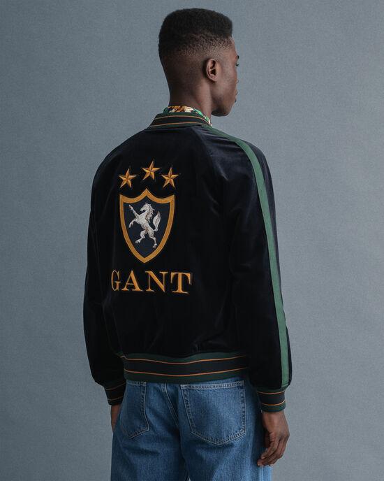 GANT Varsity Jacket in velluto