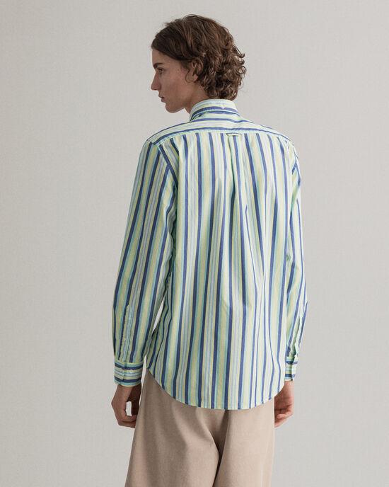 Camicia Tech Prep™ a righe regular fit