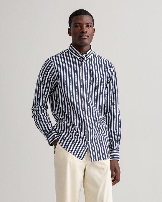 Camicia 1949 a righe regular fit