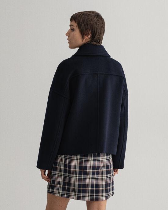 Giacca corta in misto lana