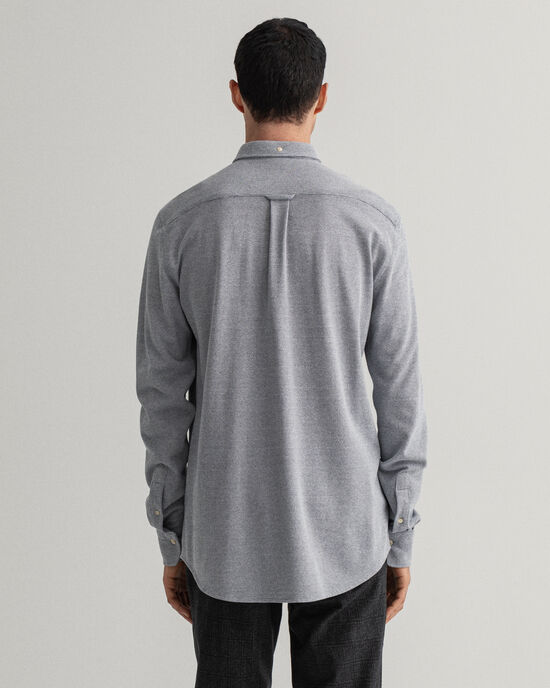 Camicia Texture Tech Prep™ in piqué regular fit