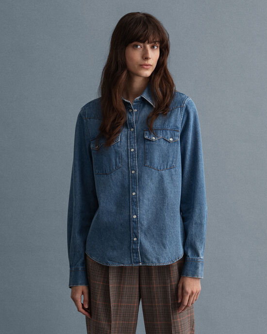 Camicia in jeans Sawtooth