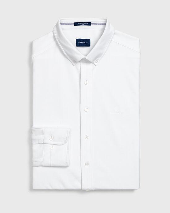 Slim Fit Tech Prep™ Piqué Shirt