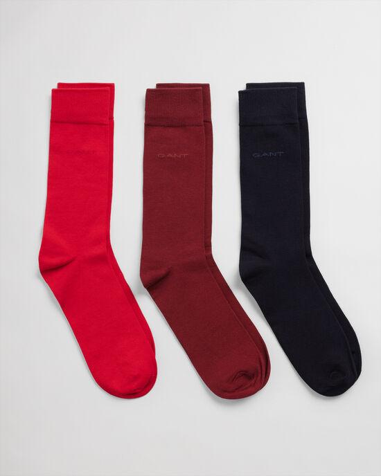 Confezione da 3 paia di calzini in morbido cotone