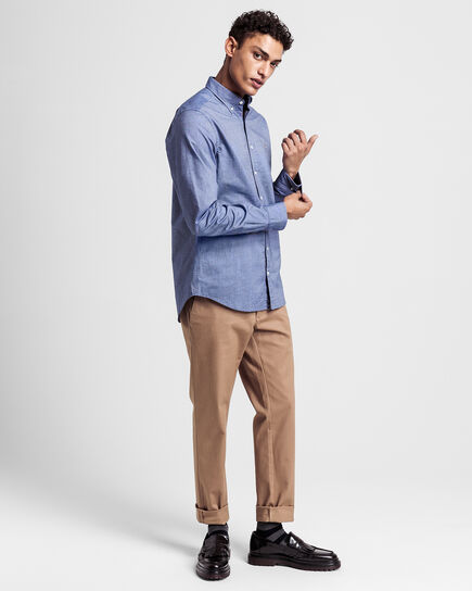 Camicia Oxford slim fit