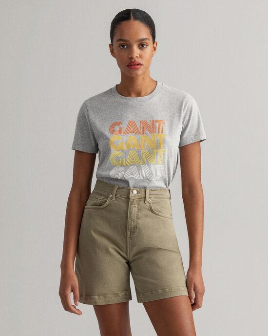 T-shirt Gradient Graphic