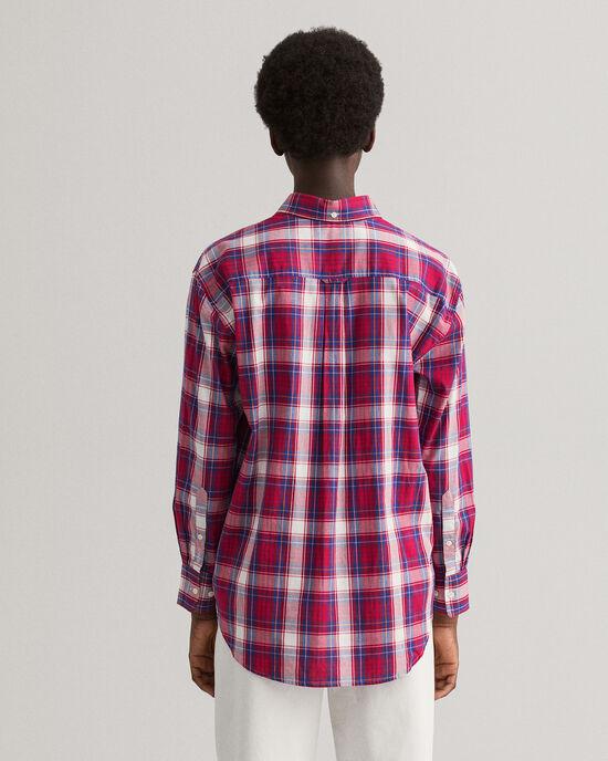 Camicia Oxford Windblown a quadri relaxed fit
