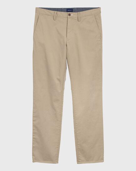 Pantaloni chino in twill regular fit