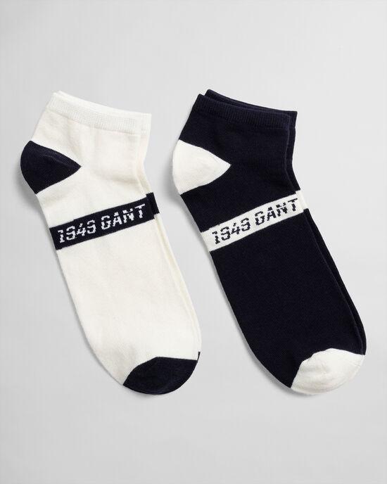 Confezione da 2 paia di calzini alla caviglia