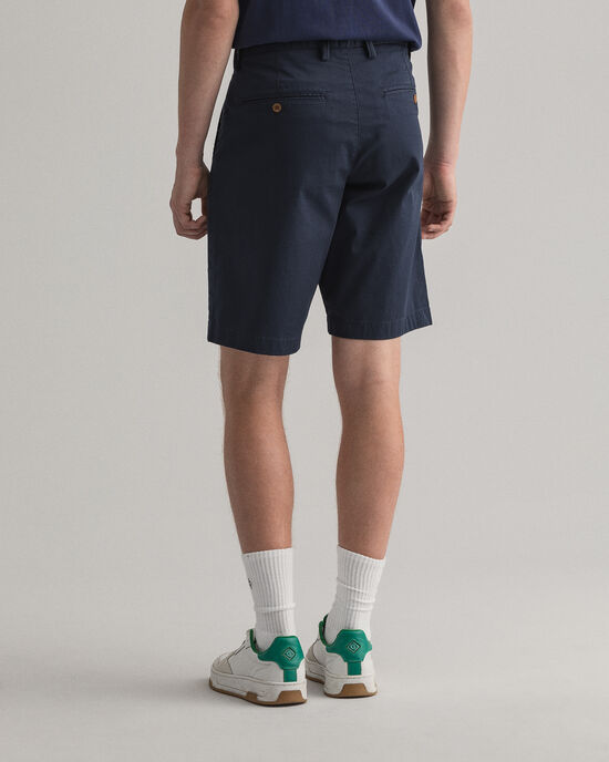 Pantaloncini in twill relaxed fit