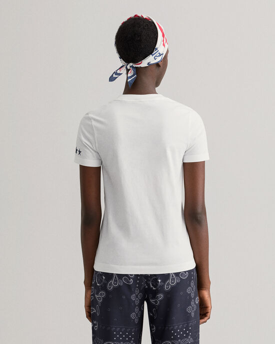T-shirt Retro Shield