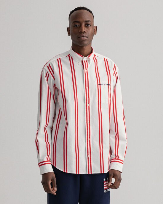 Camicia a righe Bold relaxed fit