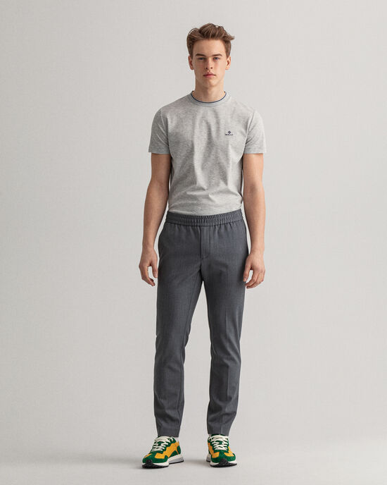 Joggers Hallden in twill slim fit