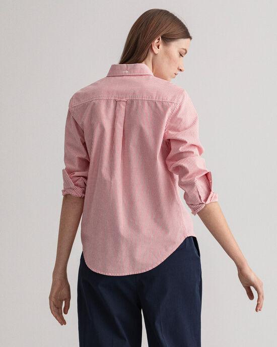 Camicia Oxford a righe