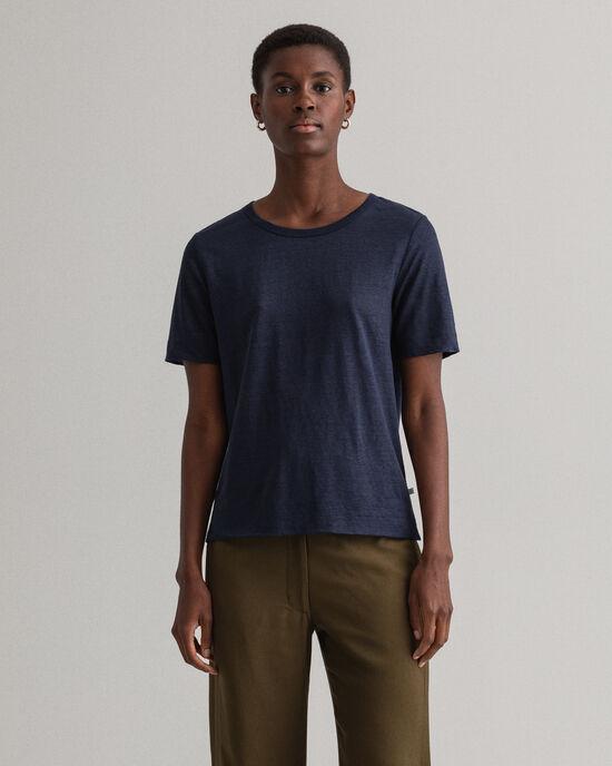 T-shirt di lino