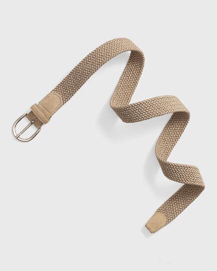 Cintura intrecciata elasticizzata