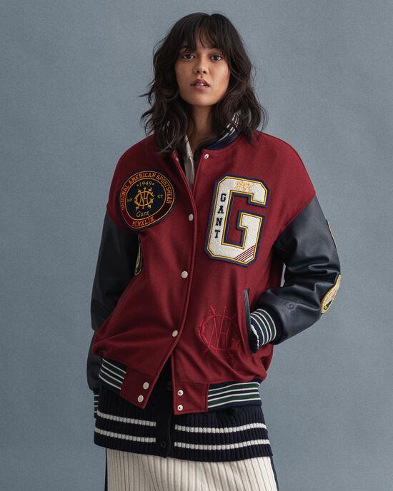 GANT Varsity Jacket US Royalty