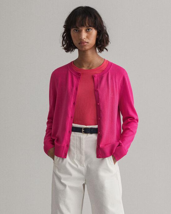 Cardigan in cotone leggero