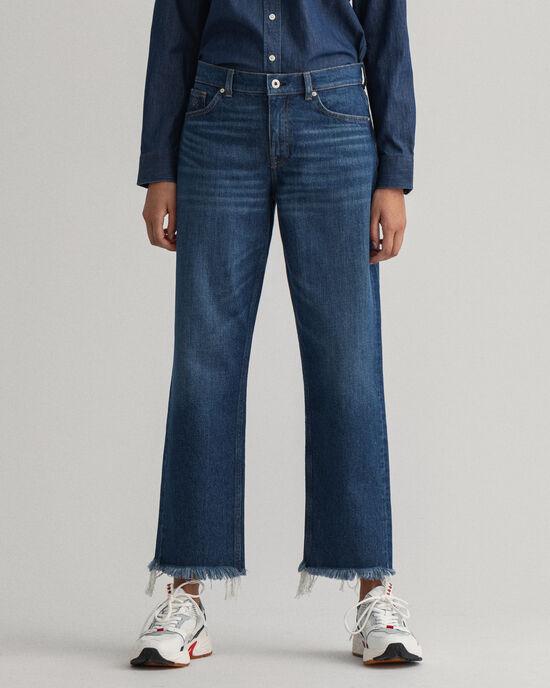 Jeans Camie sopra la caviglia relaxed fit