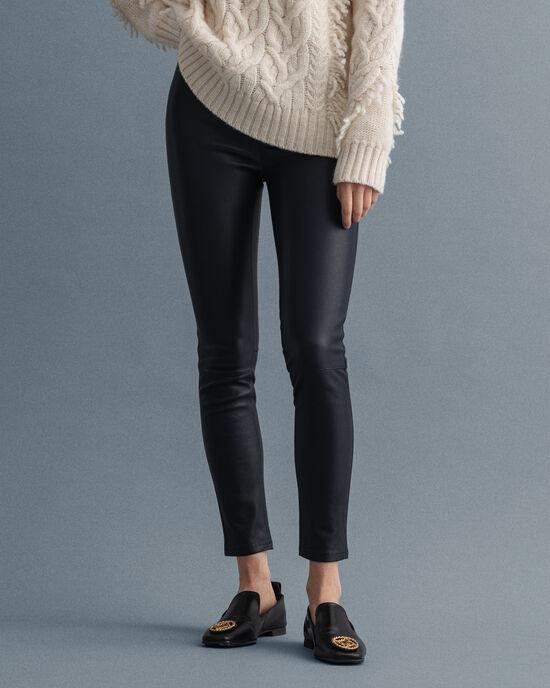 Pantaloni in pelle skinny