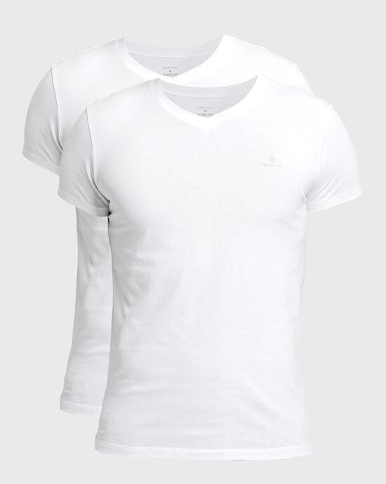 Confezione da 2 T-shirt con scollo a V