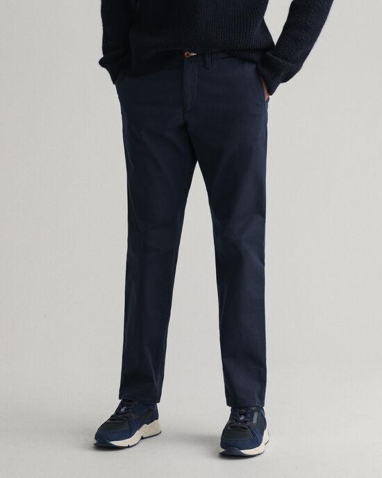 Pantaloni chino in twill slim fit
