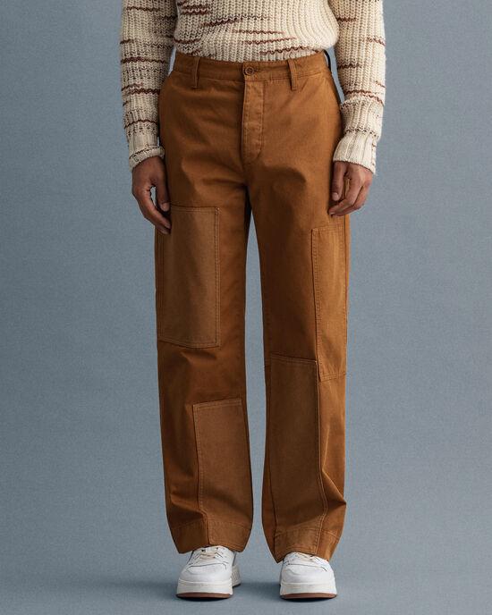Pantaloni chino Patchwork