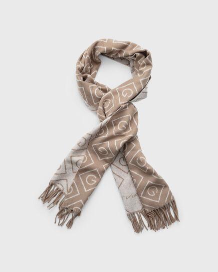 Sciarpa in lana con motivo Iconic G