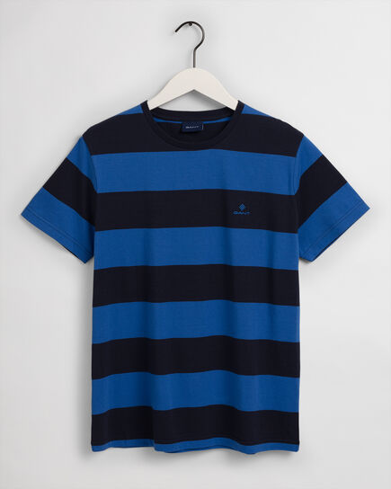 T-shirt a righe larghe