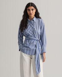 Camicia Tech Prep™ in broadcloth a righe miste