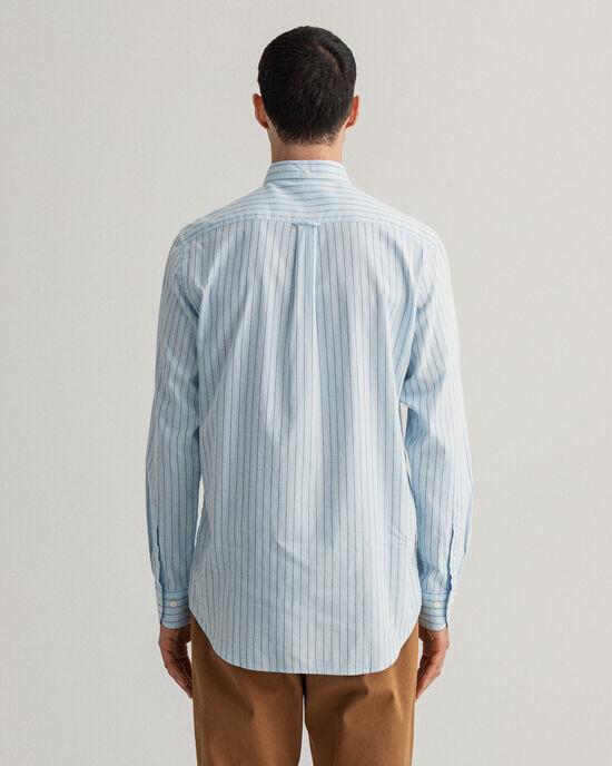 Camicia Oxford a righe a regular fit