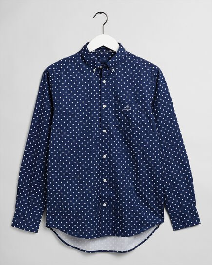 Camicia Oxford pinpoint regular fit