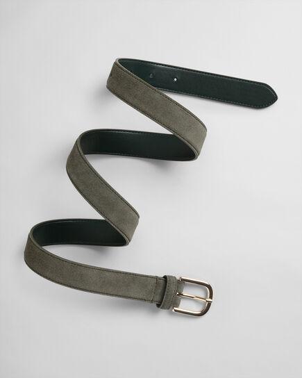 Cintura in camoscio