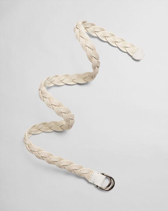 Cintura in corda con anelli a D