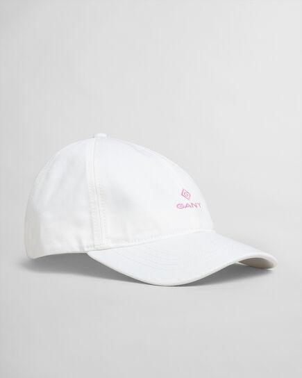 Cappellino in twill con dettagli a contrasto