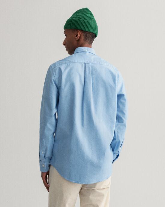 Camicia Oxford tinta in capo regular fit
